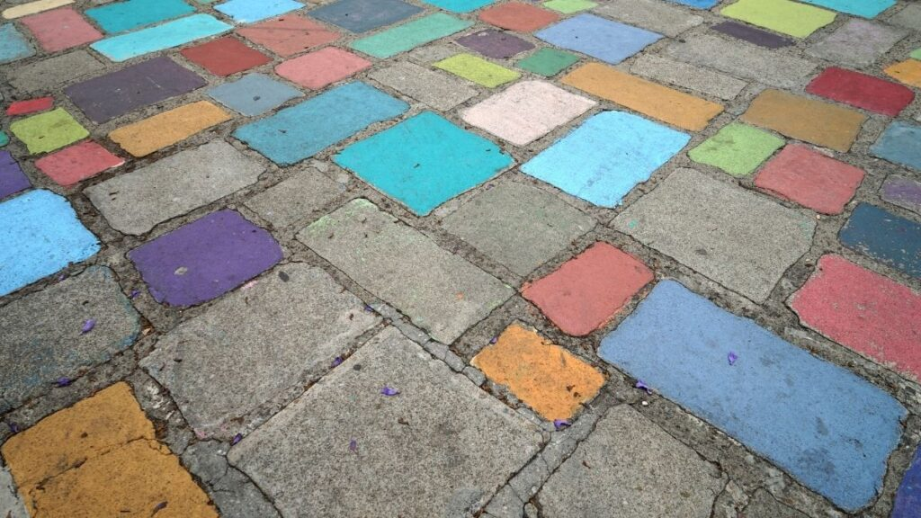 How To Paint Pavers For Crafts